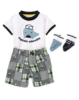Captain Adorable Outfit by Gymboree