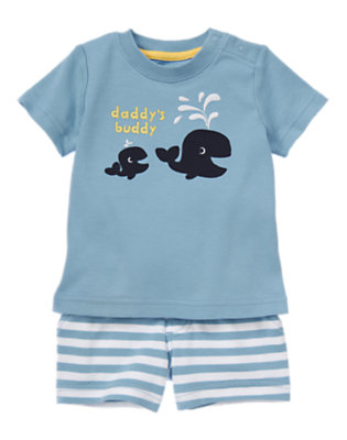 Baby's Daddy's Buddy Outfit by Gymboree