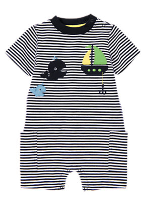 Baby's Blue Sailing Outfit by Gymboree
