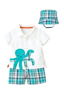 Octopus In Plaid