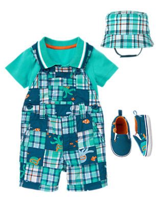 Patchwork Playtime Outfit by Gymboree