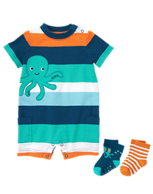Ahoy Octopus! Outfit by Gymboree