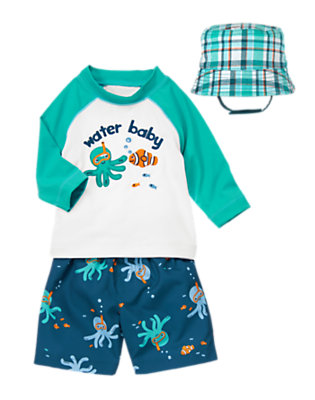 Baby's Water Baby Outfit by Gymboree