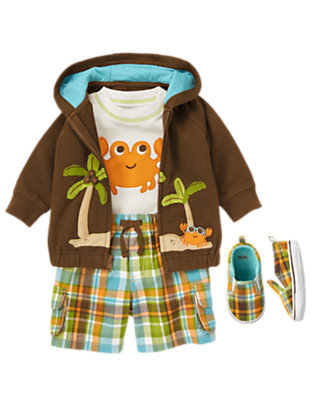 Crab Island Outfit by Gymboree
