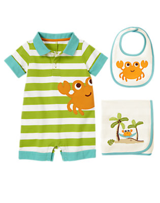 Baby's Cuddly Crab Outfit by Gymboree