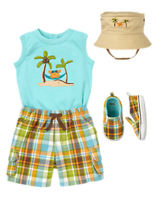 Summer Dude Outfit by Gymboree