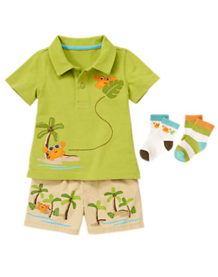 Baby's Island Preppy Outfit by Gymboree