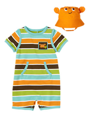 Baby's Crab Cutie Outfit by Gymboree