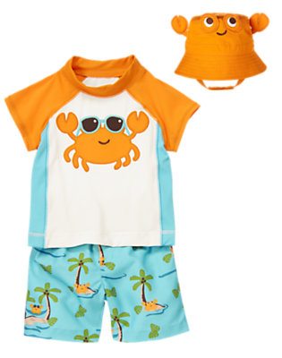 Baby's Beach Crab Outfit by Gymboree