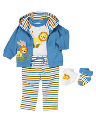 Baby's Lion Baby Outfit by Gymboree