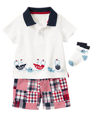 Pirate Shark Outfit by Gymboree
