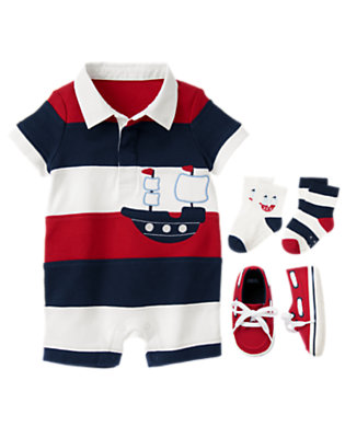 Nautical Playtime Outfit by Gymboree