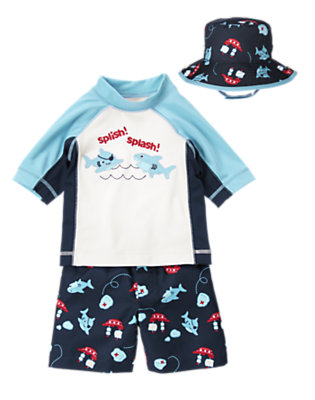 Splish! Splash! Outfit by Gymboree