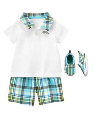 Mini Prepster Outfit by Gymboree