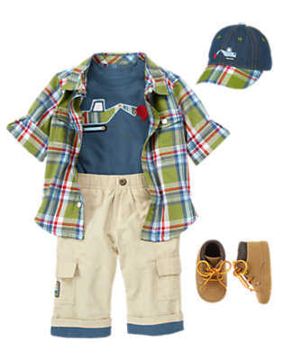 Rough & Rugged Outfit by Gymboree