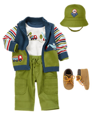 Super Excavator Outfit by Gymboree