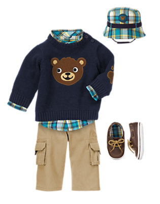 Baby Bear Outfit by Gymboree