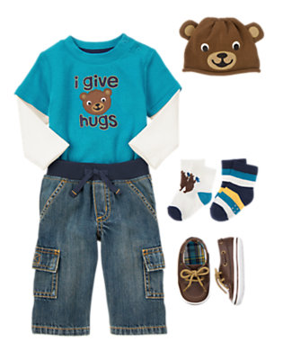 I Give Hugs Outfit by Gymboree