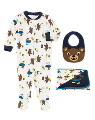 Bear Cubs Outfit by Gymboree