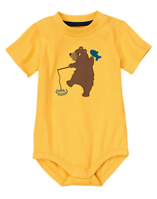 Fishing Bear Outfit by Gymboree