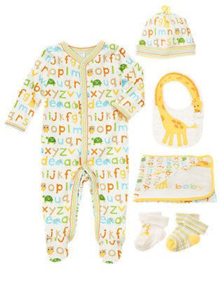 Giraffe Playtime Outfit by Gymboree
