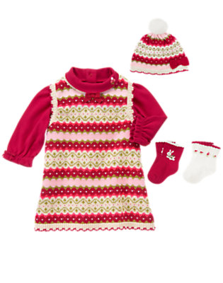 Baby's Fair Isle Cutie Outfit by Gymboree