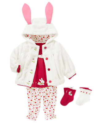 Baby's Bunny Baby Outfit by Gymboree