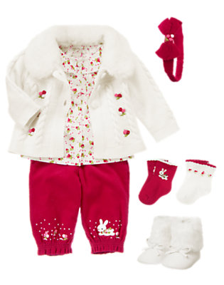 Baby's Snow Bunny Outfit by Gymboree