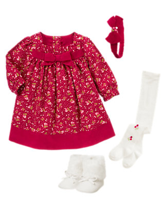 Winter Berry Outfit by Gymboree