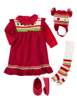 Baby's Merry & Bright Outfit by Gymboree