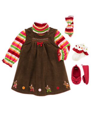 Baby's Miss Reindeer Outfit by Gymboree