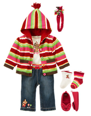 Baby's Winter Cheer Outfit by Gymboree