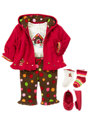 Bundled in Fleece Outfit by Gymboree
