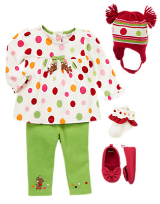 Dots of Sweetness Outfit by Gymboree