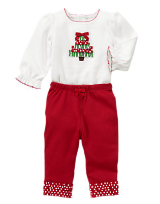 Baby's My First Holiday Outfit by Gymboree