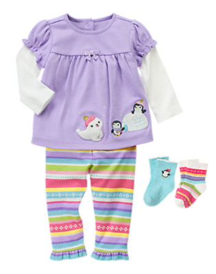 Penguin Play Outfit by Gymboree