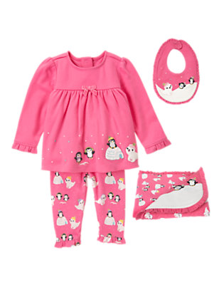 Penguin Comfort Outfit by Gymboree