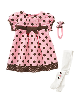 Dots Of Style Outfit by Gymboree