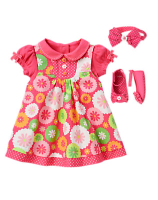 Baby's Adorable Floral Outfit by Gymboree