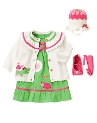 Spring Flowers Outfit by Gymboree