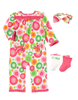 Baby's Flower Power Outfit by Gymboree