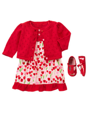 Baby's Tulip Treats Outfit by Gymboree
