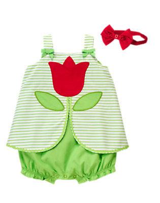 Baby's Blooming Style Outfit by Gymboree