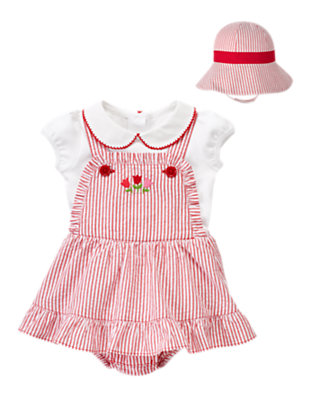 Seersucker Sweetness Outfit by Gymboree