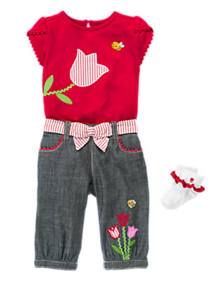 Bright & Happy Outfit by Gymboree