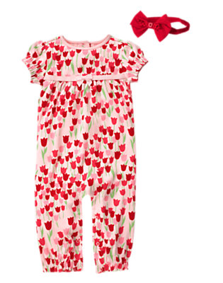 Floral Days Outfit by Gymboree