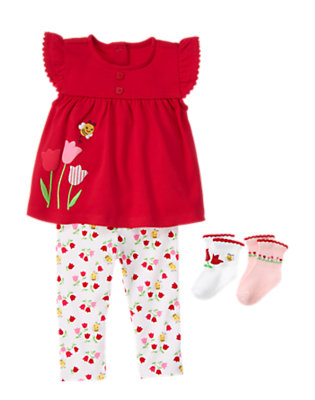 Baby's Sweet Blooms Outfit by Gymboree