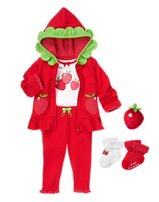 Baby's Baby Strawberry Outfit by Gymboree