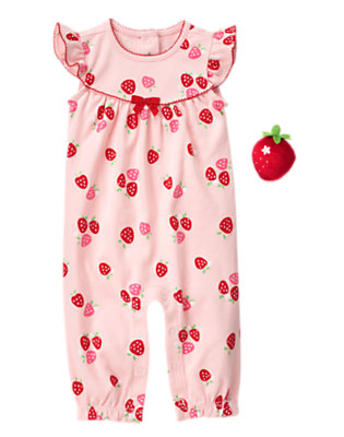 Baby's Strawberry Darling Outfit by Gymboree