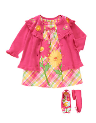 Patchwork Daisy Outfit by Gymboree